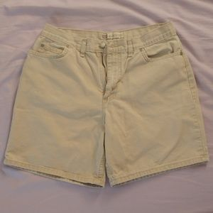 FADED GLORY Khaki Tan Denim Women's Shorts